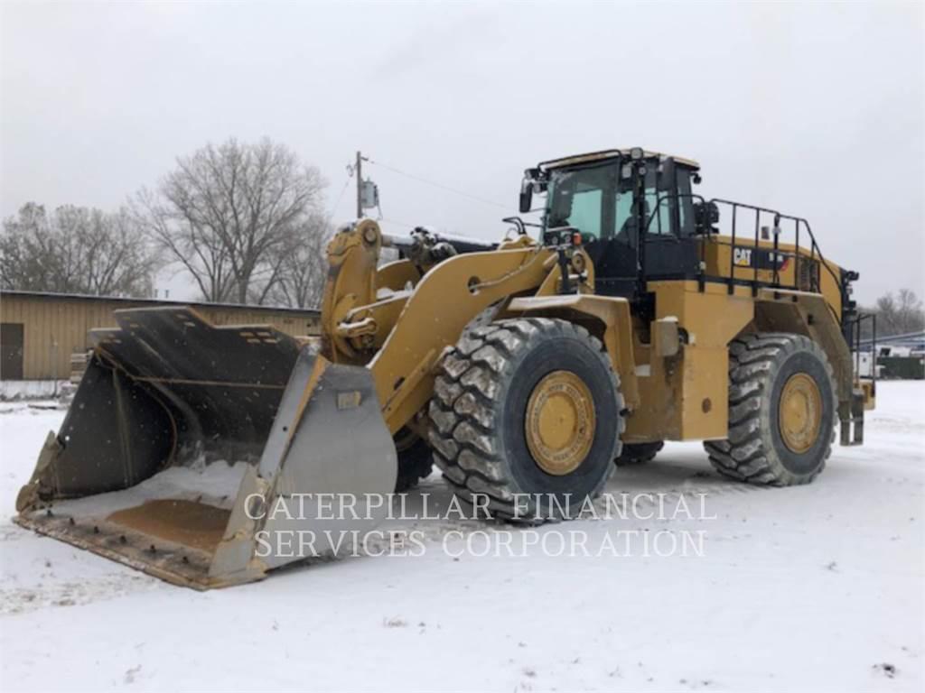 Caterpillar 988K, Wheel Loaders, Construction