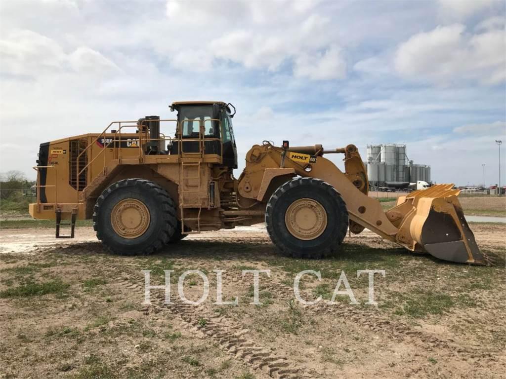 Caterpillar 988K, Wielladers, Bouw