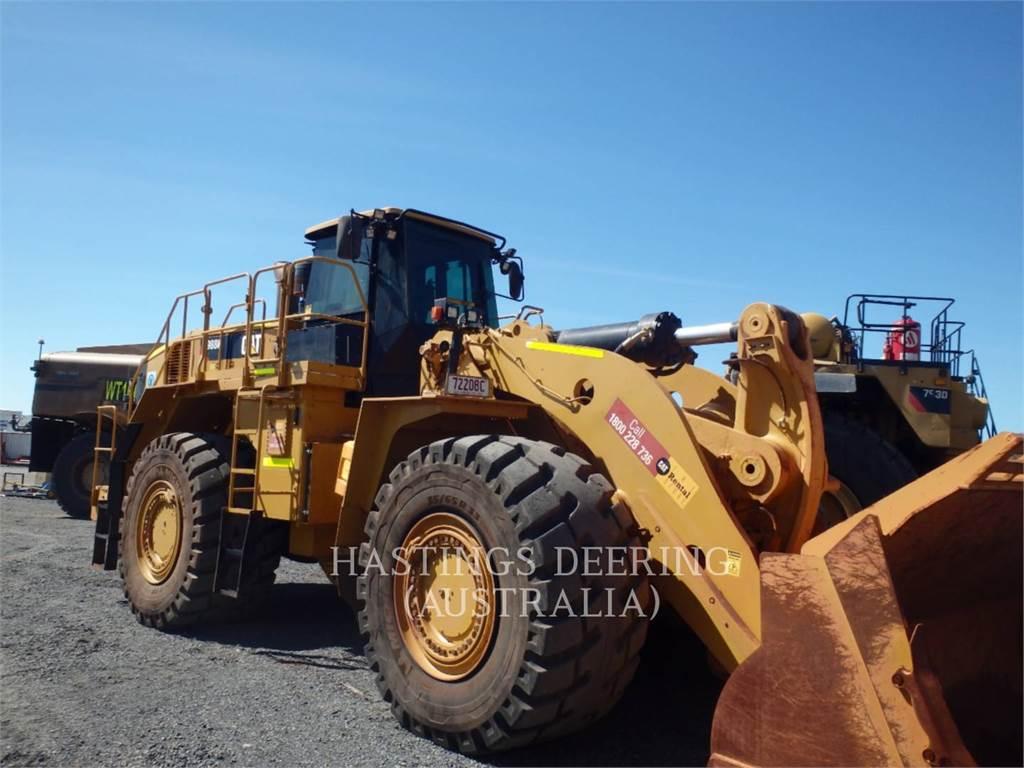 Caterpillar 988K, Pás carregadoras de rodas, Equipamentos Construção
