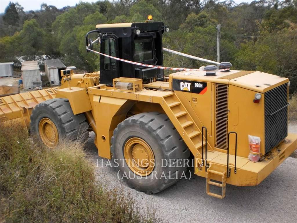Caterpillar 990H, Chargeuse sur pneus, Équipement De Construction
