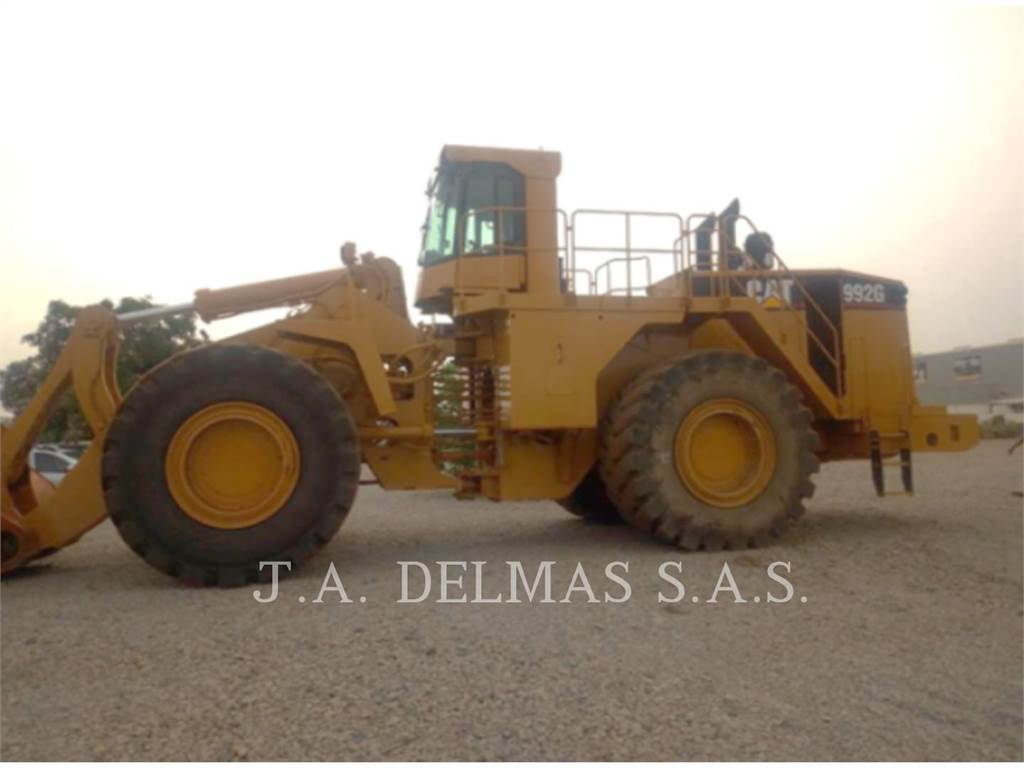 Caterpillar 992 G, Wheel Loaders, Construction