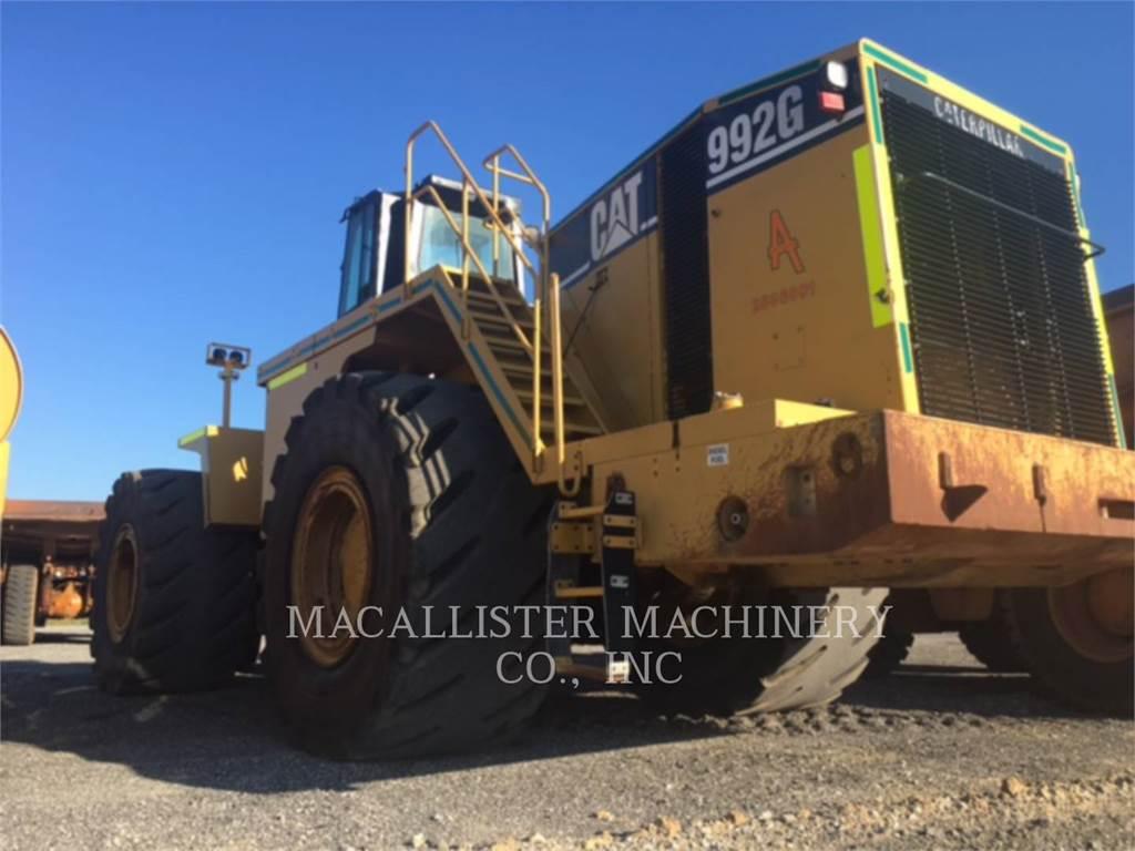 Caterpillar 992G, Wheel Loaders, Construction