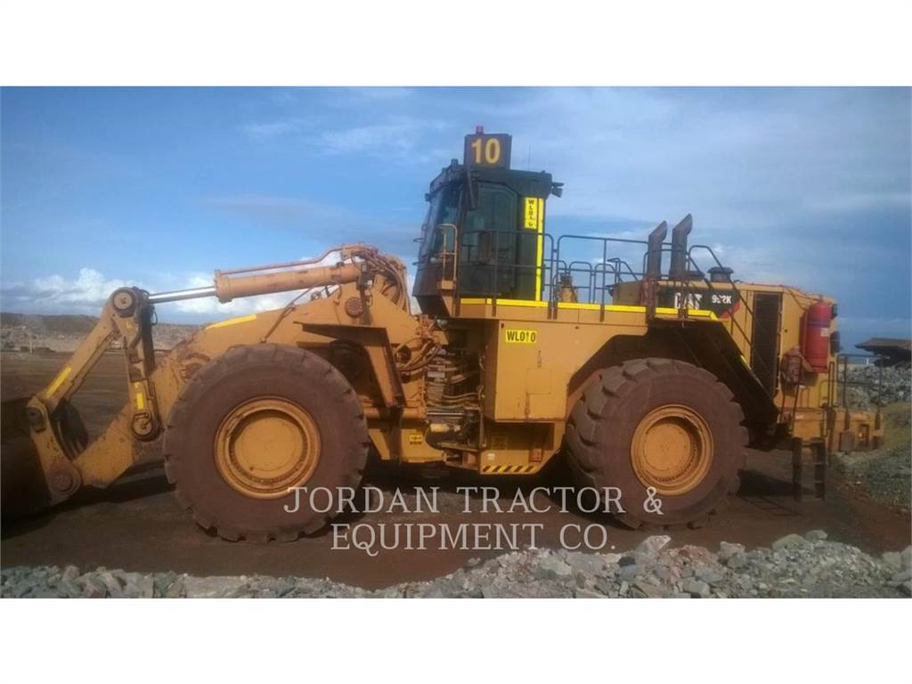 Caterpillar 992K, Wheel Loaders, Construction