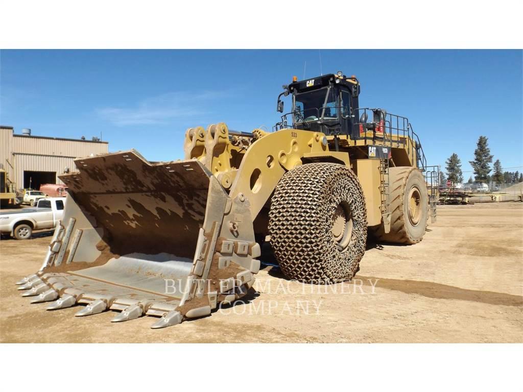 Caterpillar 993K、ホイールローダー、建設