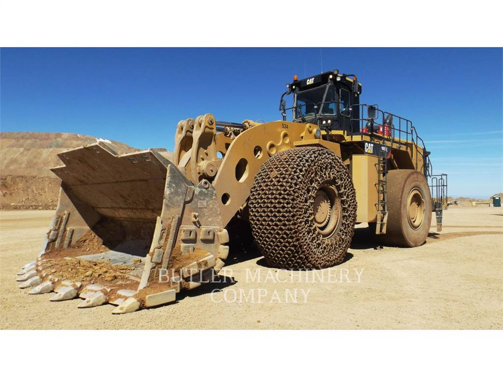 Caterpillar 993K, Wheel Loaders, Construction