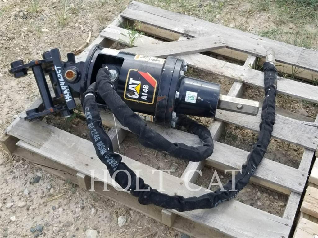 Caterpillar A14, auger, Construction