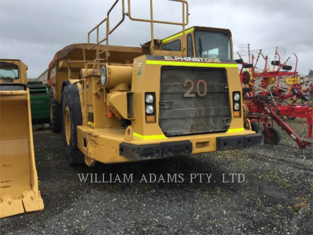 Caterpillar AD55, Dumper - Knickgelenk, Bau-Und Bergbauausrüstung