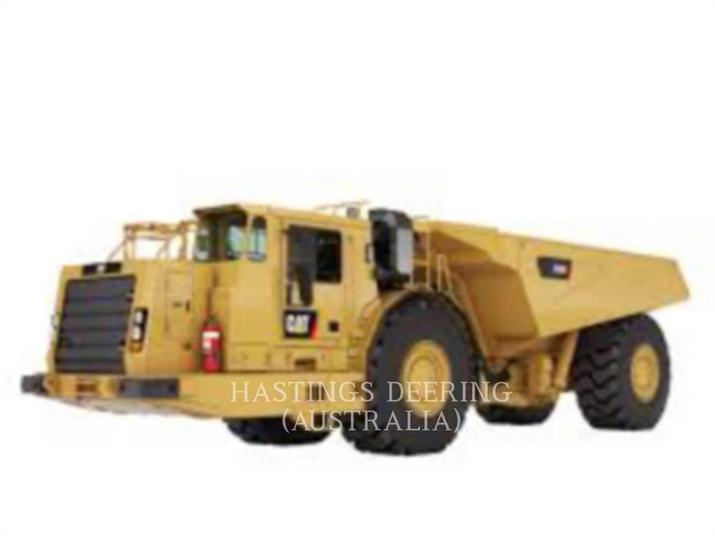 Caterpillar AD55B, Transportoare articulate, Constructii