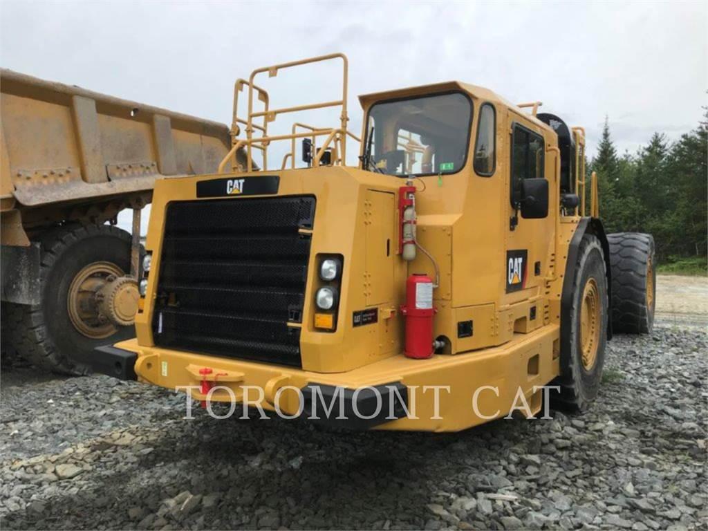 Caterpillar AD60, underground equipment, Construction