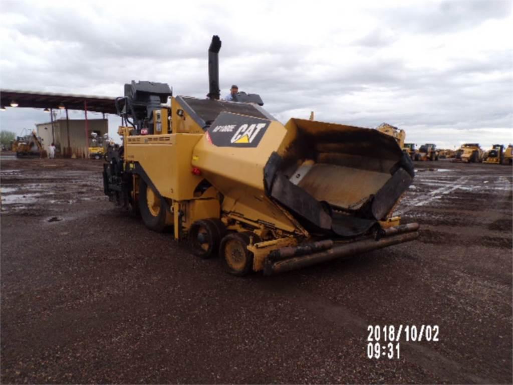 Caterpillar AP 1000 E, Rozściełacze do asfaltu, Sprzęt budowlany