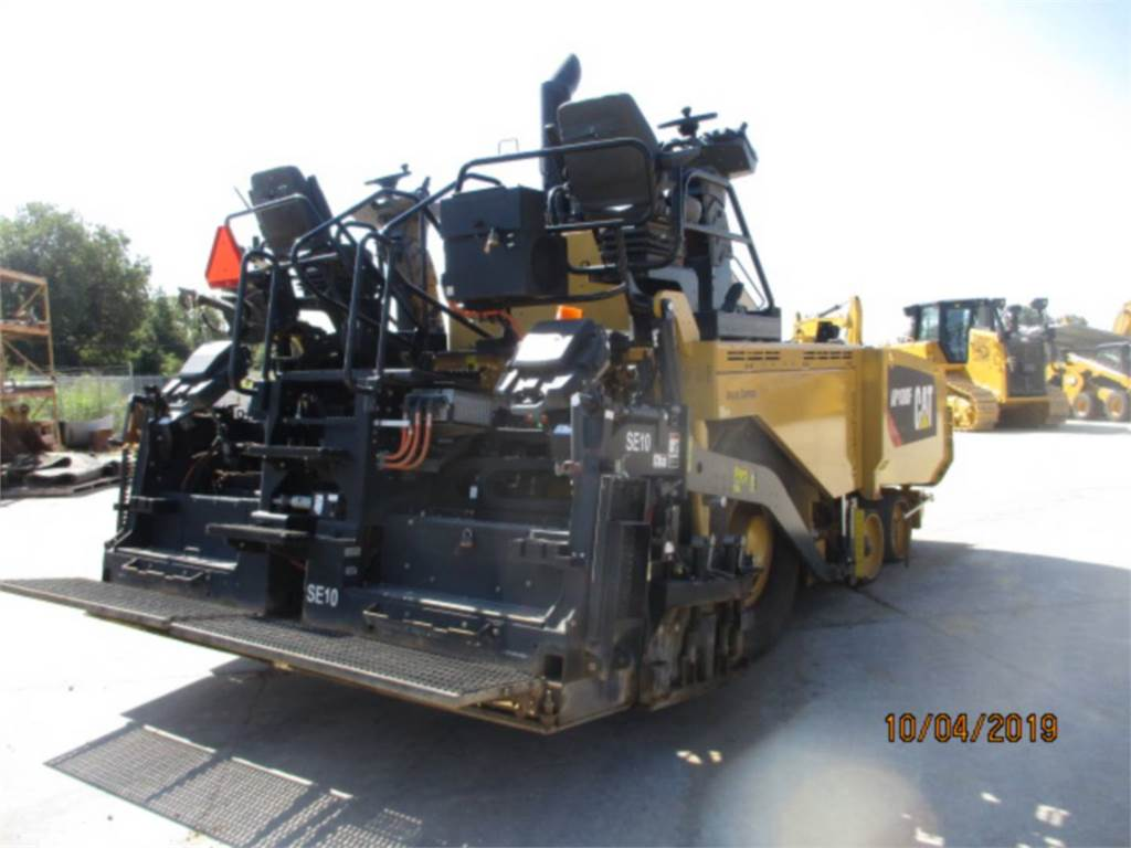 Caterpillar AP 1000 F, Rozściełacze do asfaltu, Sprzęt budowlany