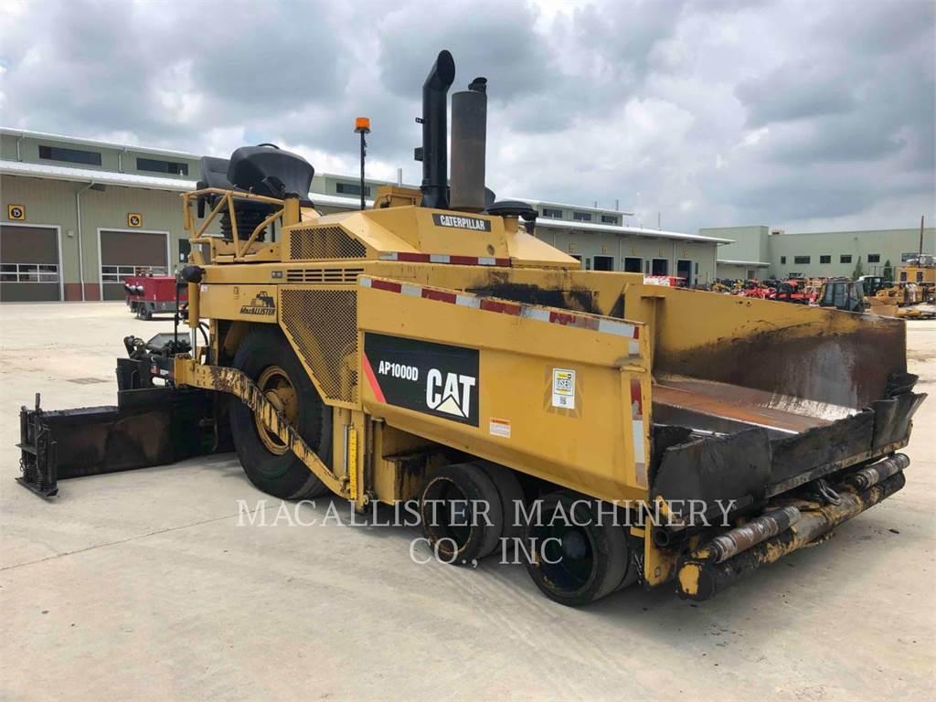 Caterpillar AP-1000D, Pavimentadoras de asfalto, Equipamentos Construção