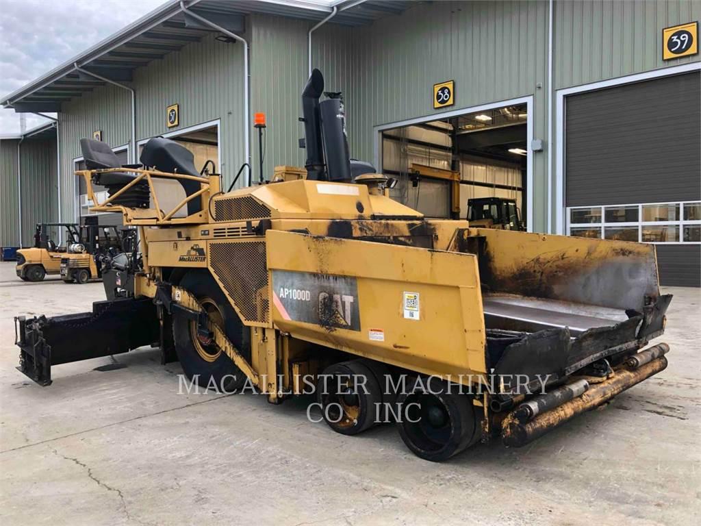 Caterpillar AP-1000D, Asphalt pavers, Construction