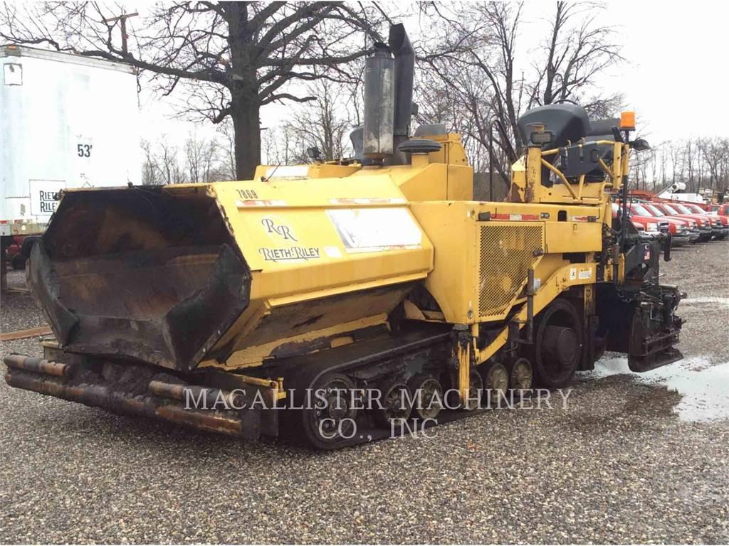 Caterpillar AP-1055D, Pavatoare asfalt, Constructii
