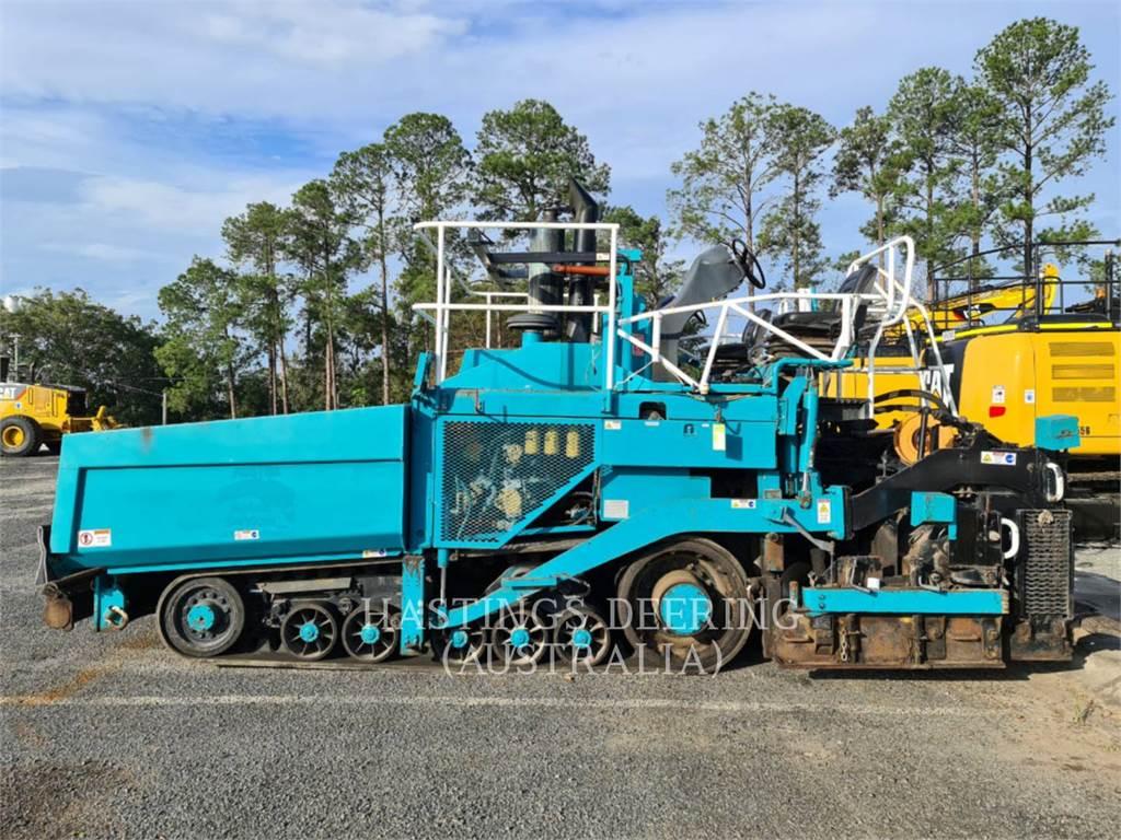 Caterpillar AP-1055D, Rozściełacze do asfaltu, Sprzęt budowlany