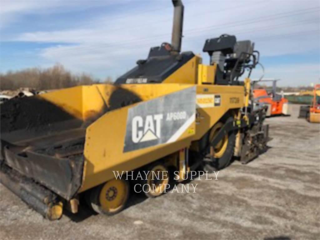 Caterpillar AP-600D, Finisseur, Équipement De Construction
