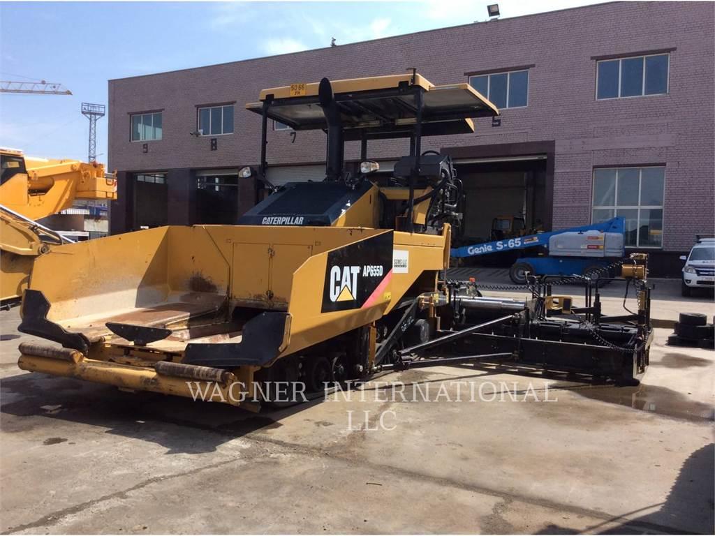 Caterpillar AP-655D, Rozściełacze do asfaltu, Sprzęt budowlany