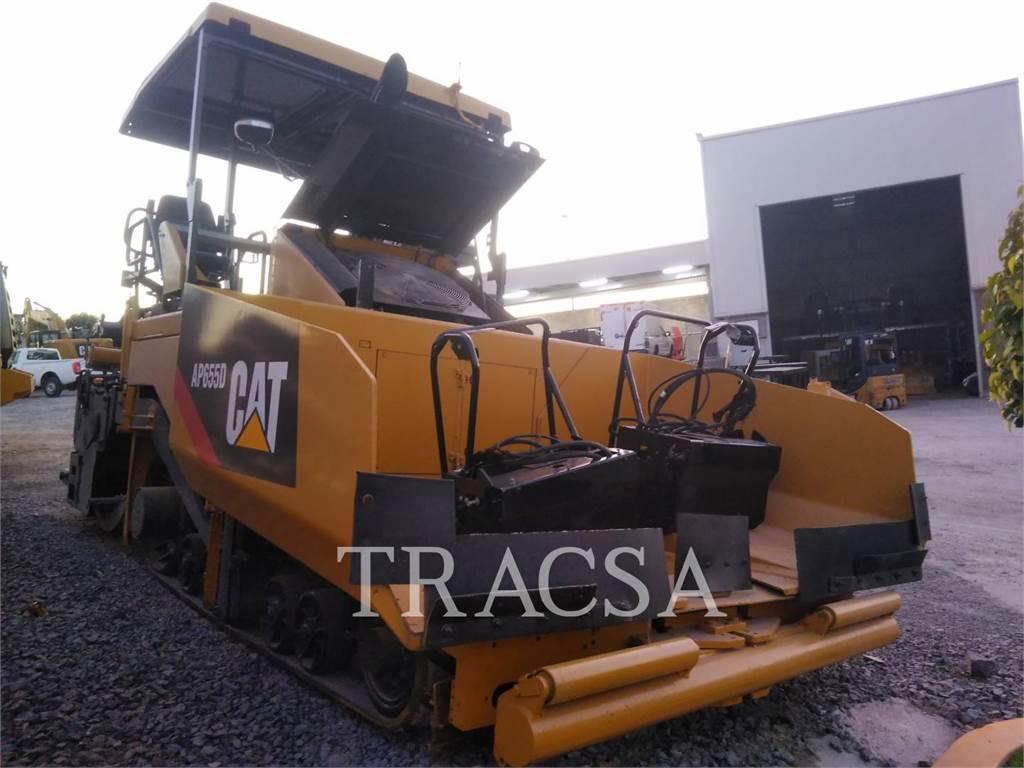 Caterpillar AP-655D, Asphalt pavers, Construction