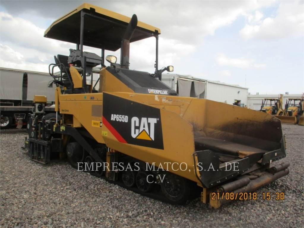 Caterpillar AP-655D, Asfaltafwerkmachines, Bouw