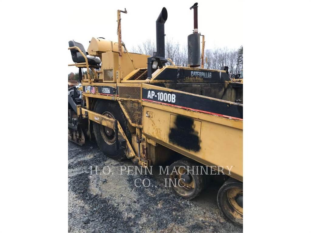 Caterpillar AP1000, Rozściełacze do asfaltu, Sprzęt budowlany