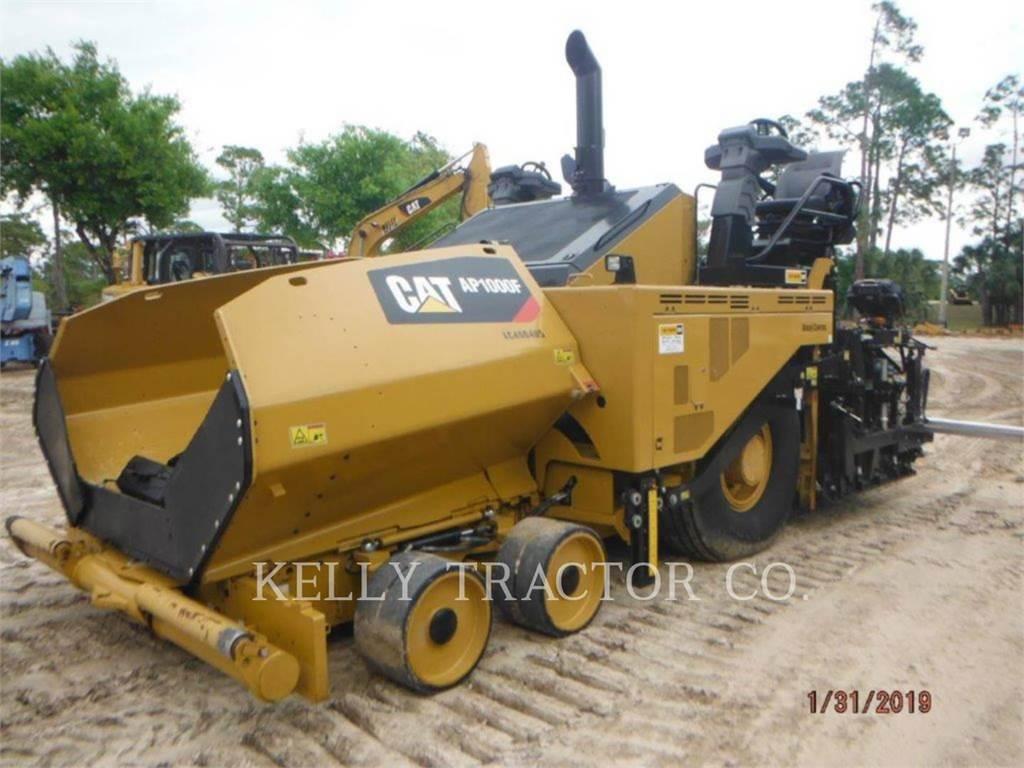 Caterpillar AP1000F, Pavimentadoras de asfalto, Equipamentos Construção