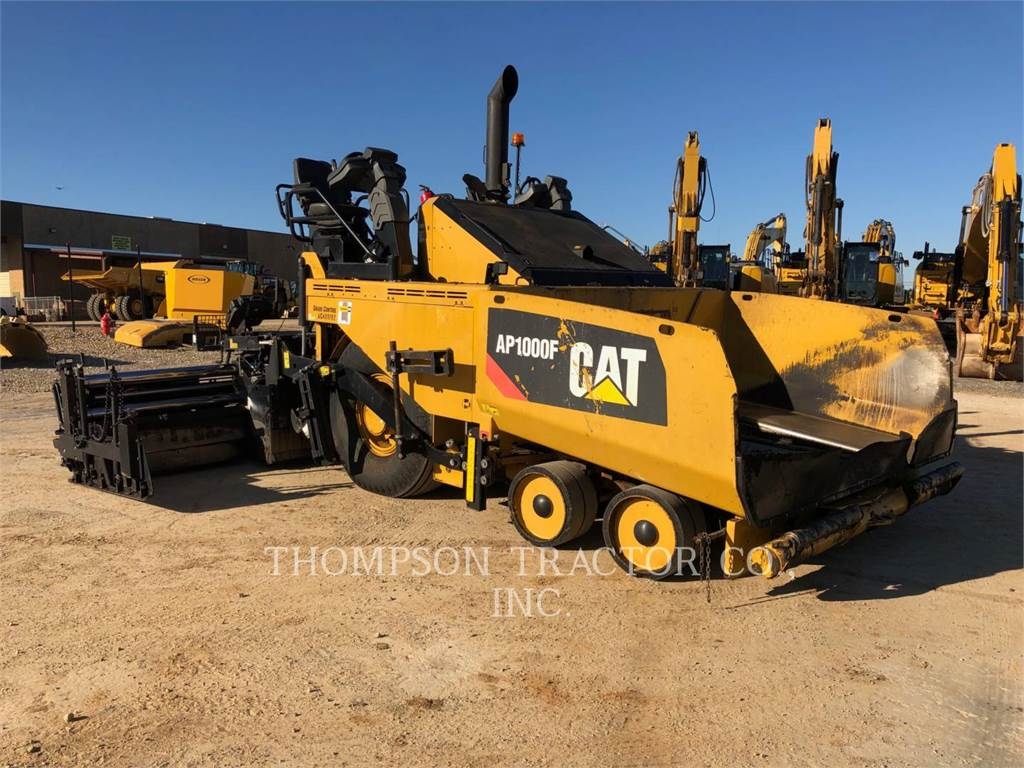 Caterpillar AP1000F, Finisseur, Équipement De Construction