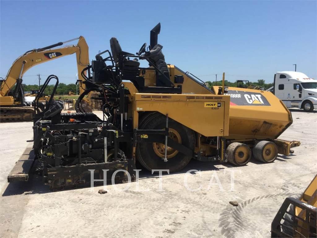 Caterpillar AP1000F、单轮压路机、建筑设备