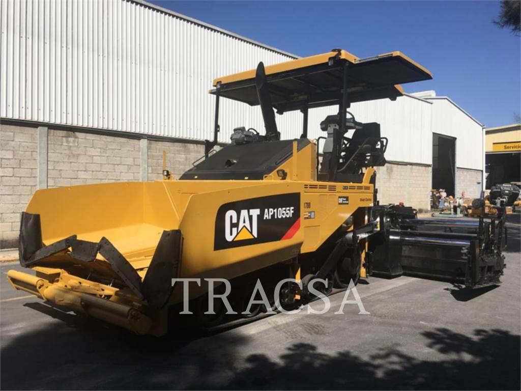 Caterpillar AP1055F, Rozściełacze do asfaltu, Sprzęt budowlany