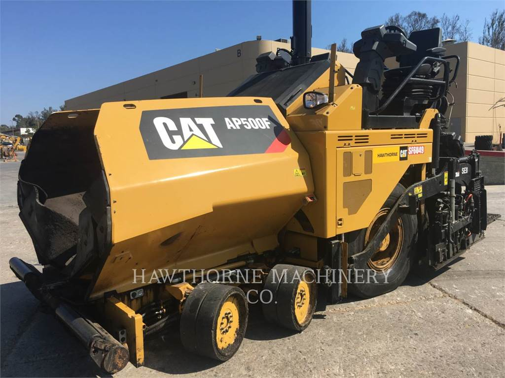 Caterpillar AP500F, Soil Compactors, Construction