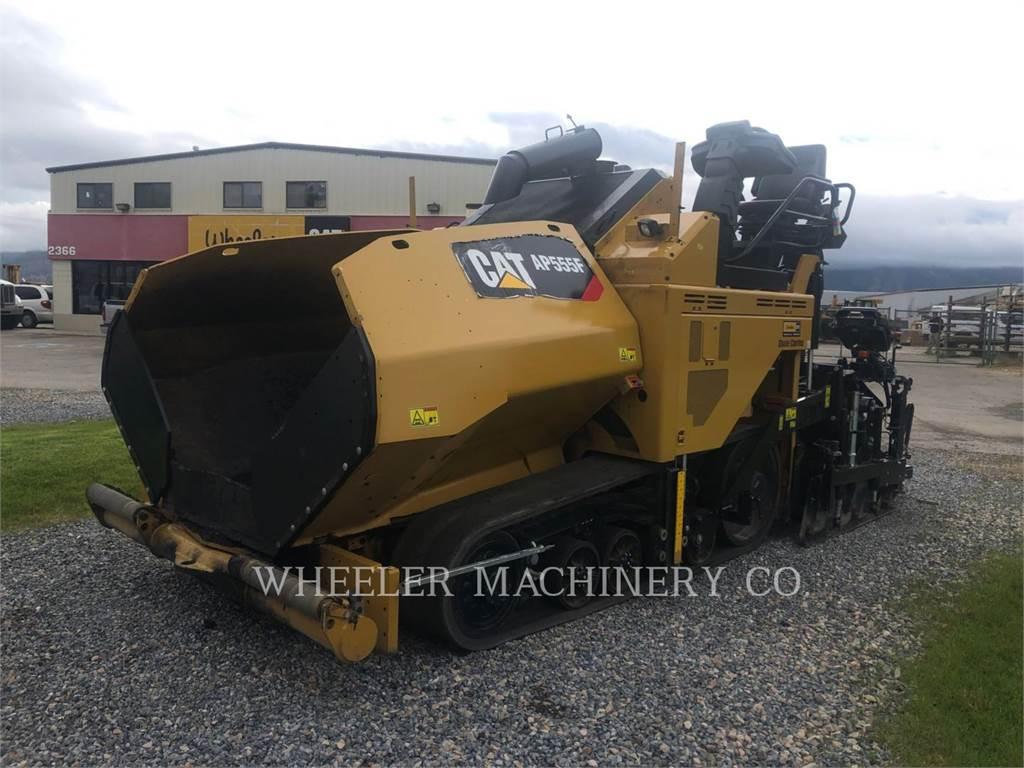 Caterpillar AP555F, Rozściełacze do asfaltu, Sprzęt budowlany