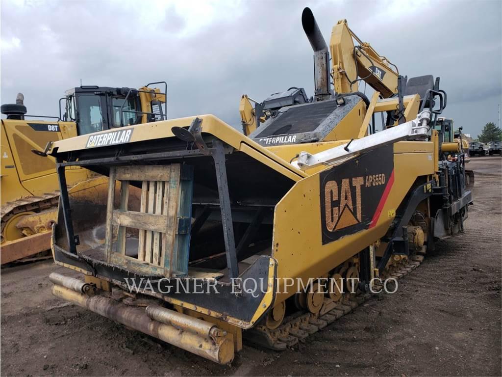 Caterpillar AP655D, Asphalt pavers, Construction