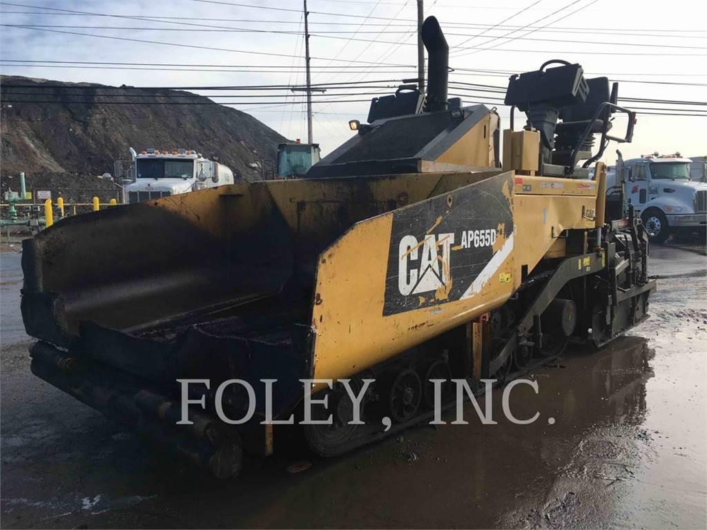 Caterpillar AP655D, Rozściełacze do asfaltu, Sprzęt budowlany