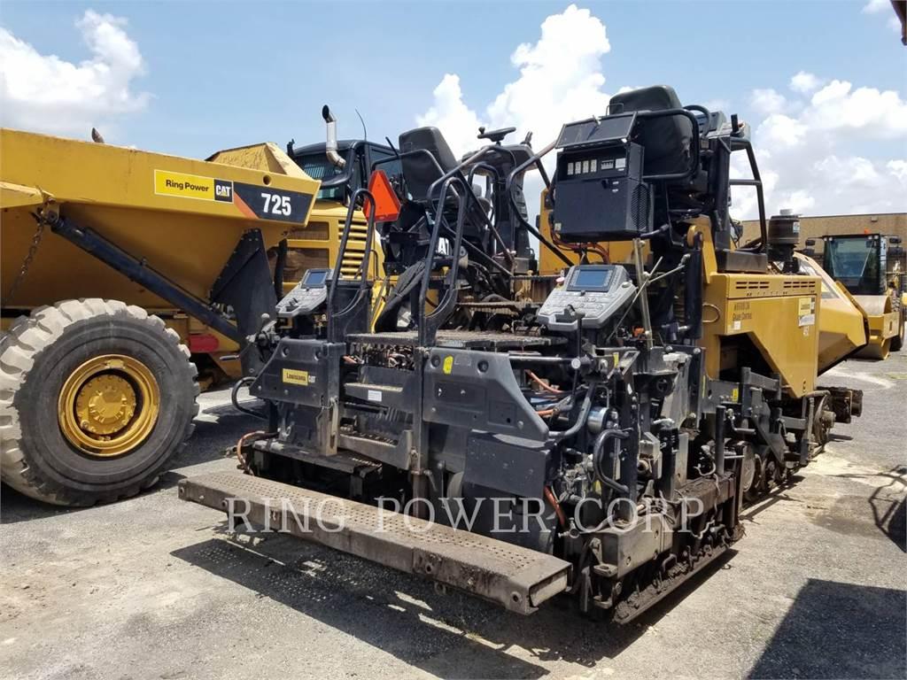 Caterpillar AP655F, estabilizadores / recuperadores de caminos, Construcción