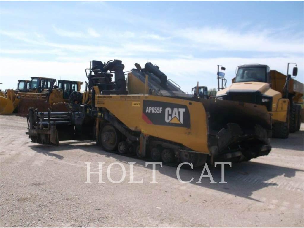 Caterpillar AP655F, Asphalt pavers, Construction