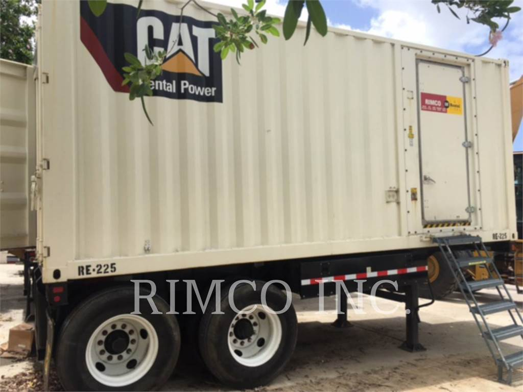 Caterpillar APS600, mobile generator sets, Construction