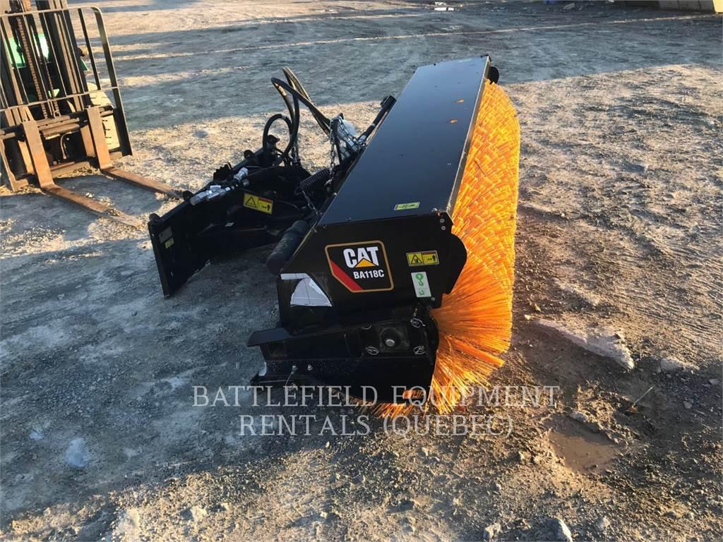 Caterpillar BA118C, Brushes, Construction