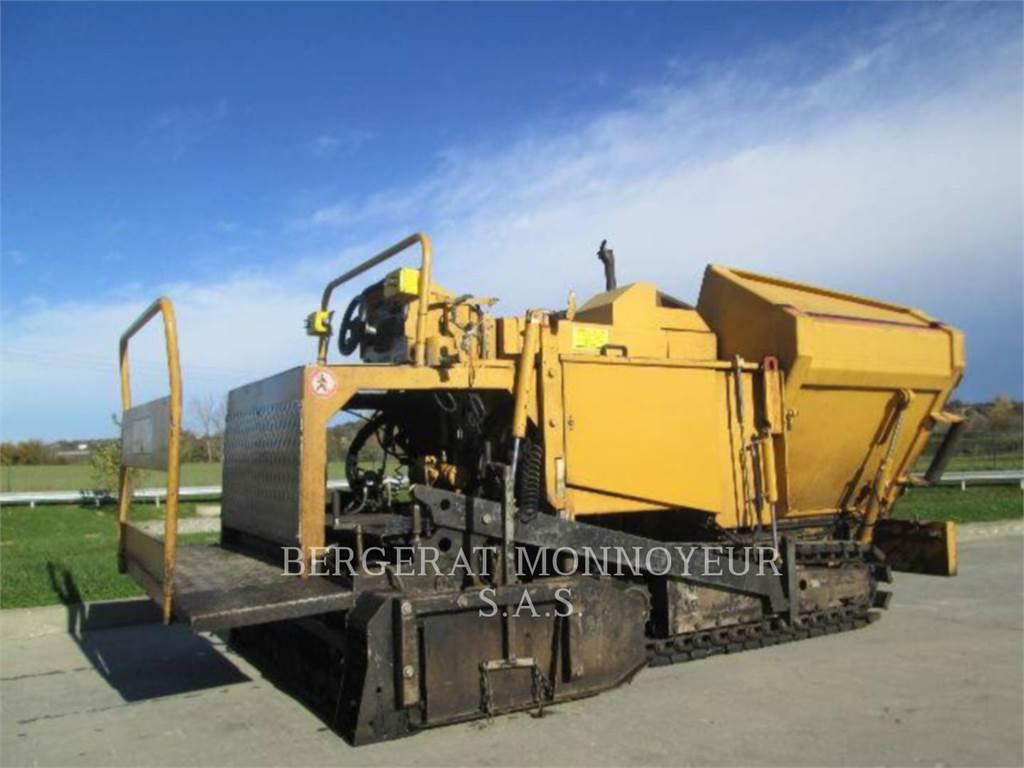 Caterpillar BB-621C, Rozściełacze do asfaltu, Sprzęt budowlany