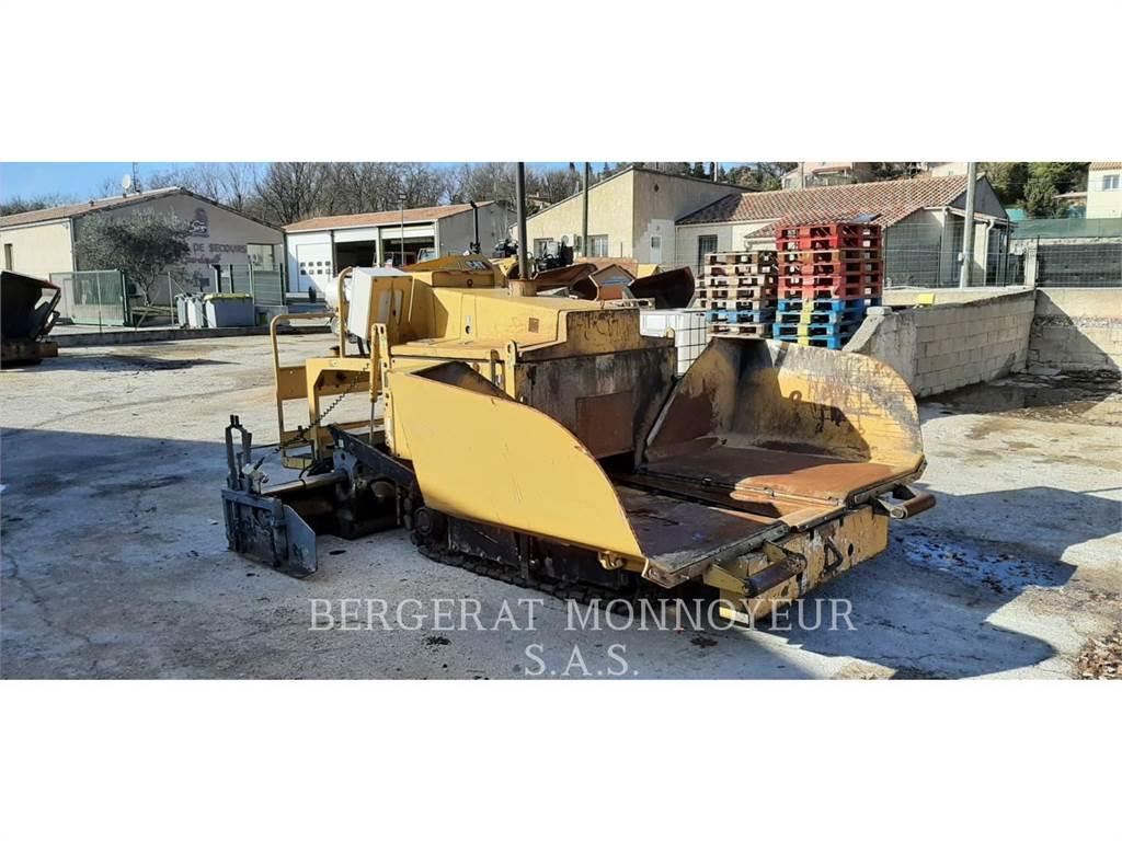 Caterpillar BB621E, Asfaltafwerkmachines, Bouw