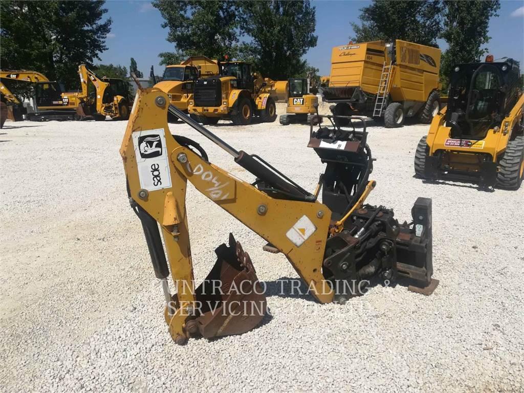 Caterpillar BH30W, ferramenta de trabalho da retroescavadeira, Equipamentos Construção