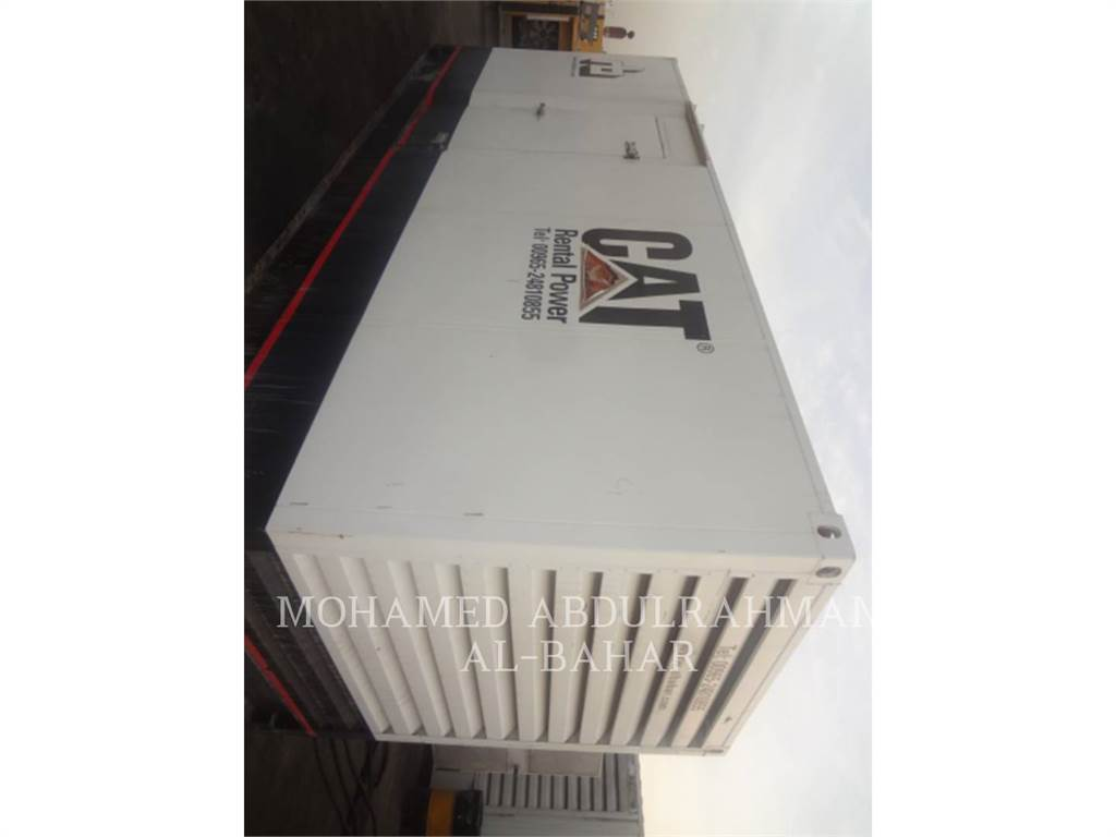 Caterpillar C13, ruchome zestawy generatorów, Sprzęt budowlany