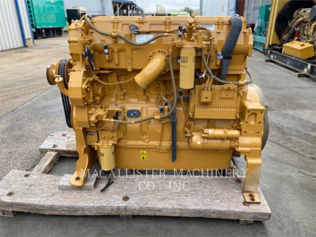 Caterpillar C15, Stationary Generator Sets, Construction