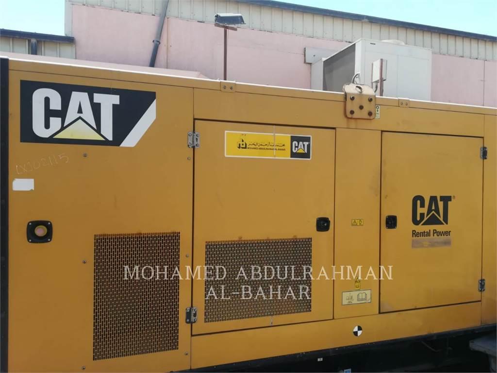 Caterpillar C15, mobiele generatorsets, Bouw