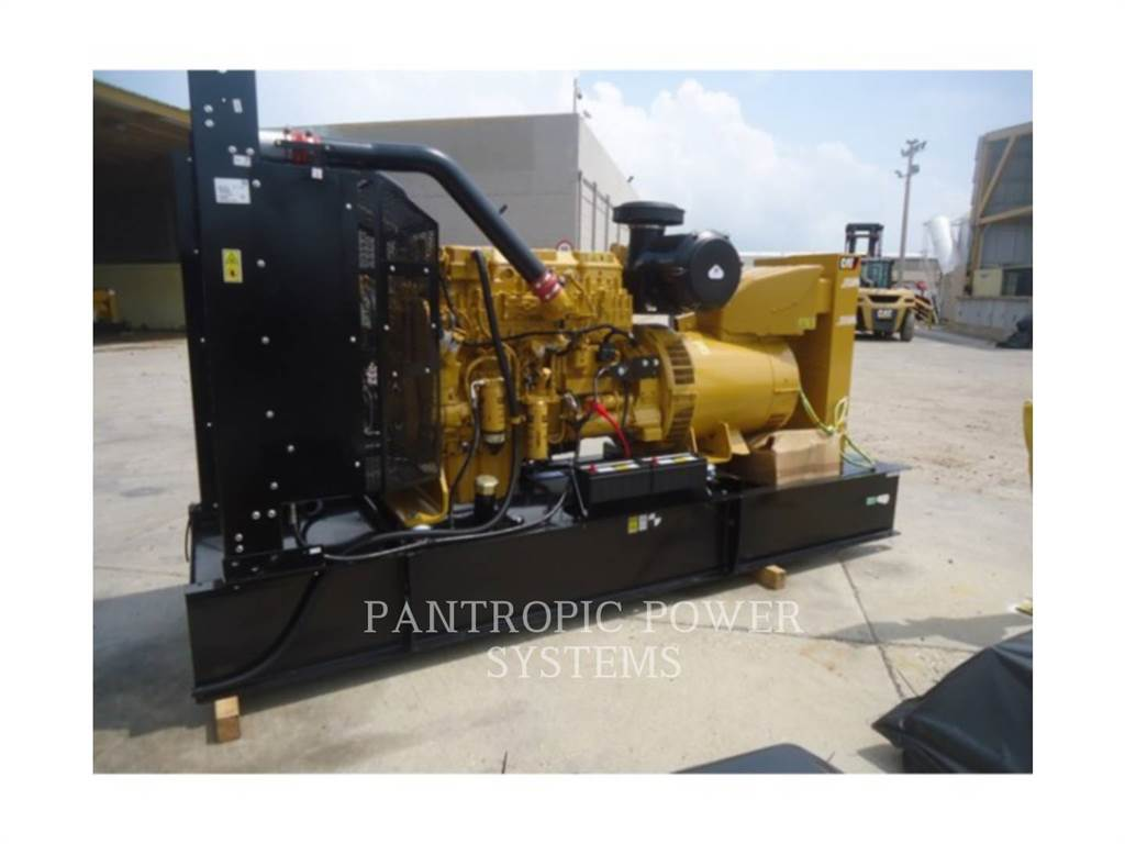Caterpillar C15, Stationary Generator Sets, Construction
