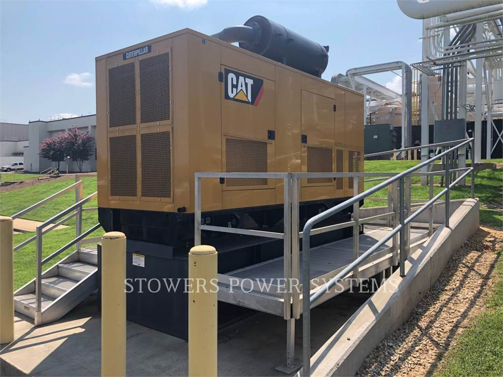Caterpillar C15 500KW, стационарные генераторные установки, Строительное