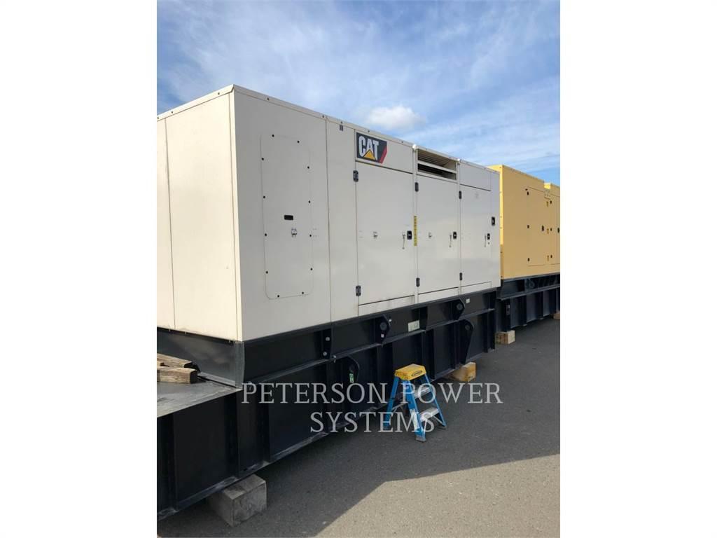 Caterpillar C15 500KW, Stationary Generator Sets, Construction
