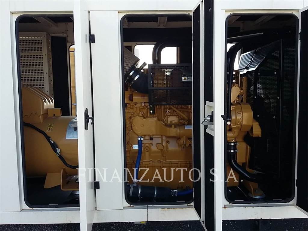 Caterpillar C15 PGAI, mobile generator sets, Construction