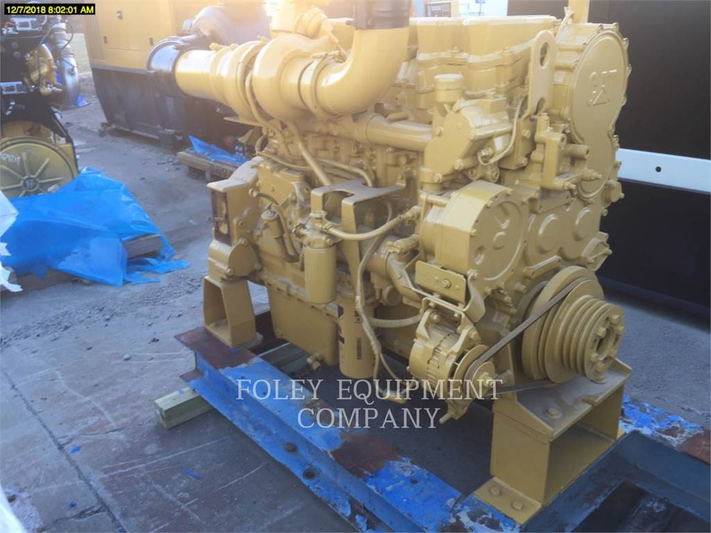 Caterpillar C15IN, Industrial engines, Constructii