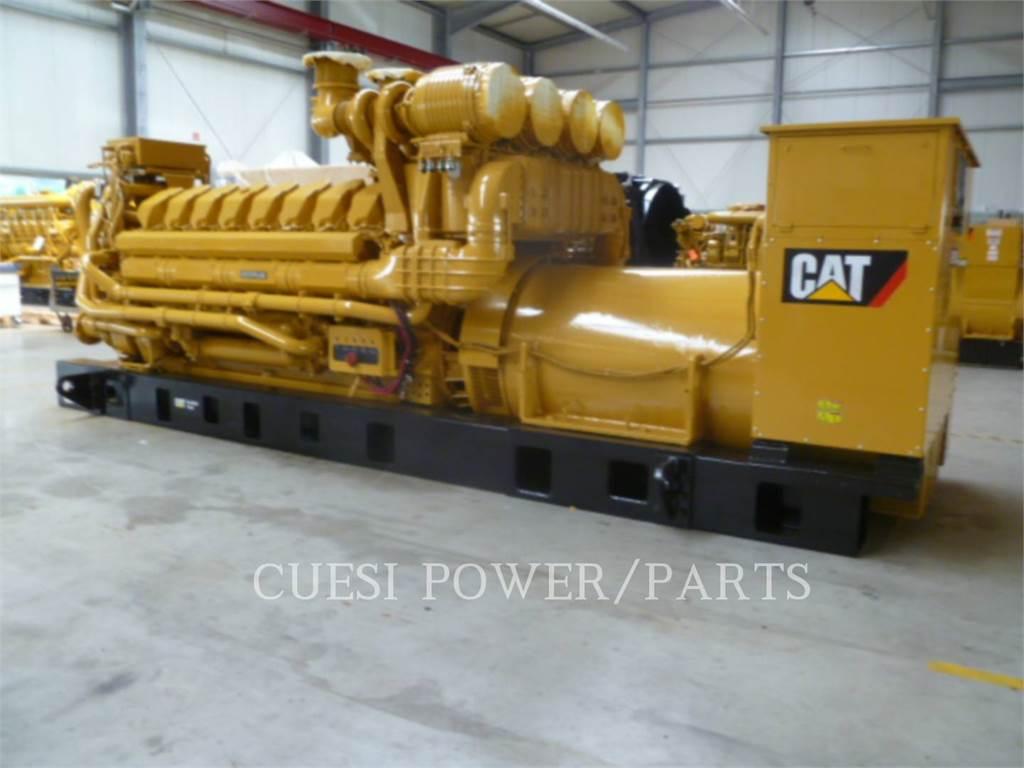 Caterpillar C175-16, Stationary Generator Sets, Construction