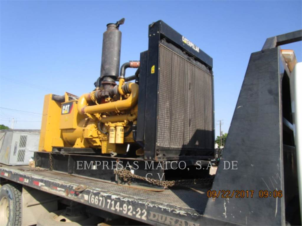 Caterpillar C18, Stationary Generator Sets, Construction