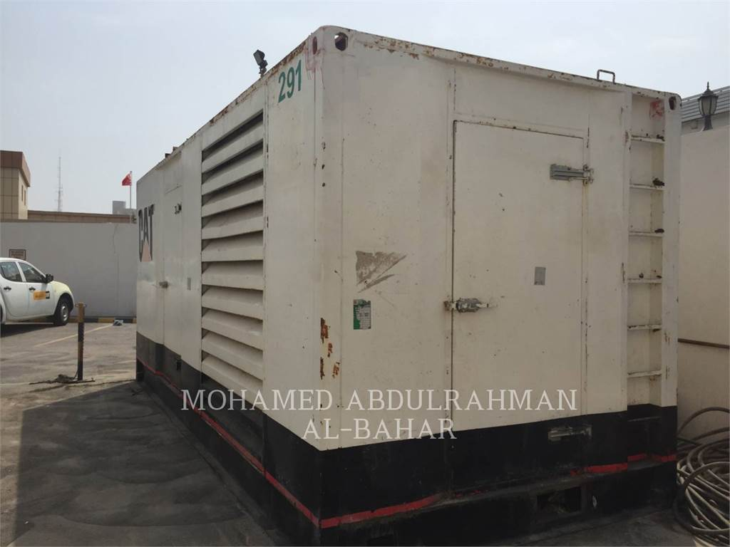 Caterpillar C18, mobile generator sets, Construction